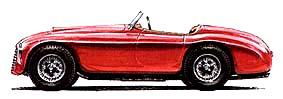 Ferrari 166 MM Barchetta Touring 1948
