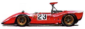 Ferrari 612 Can-Am 1968-69